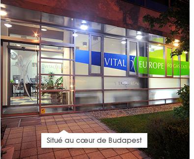 Situe au coeur de Budapest